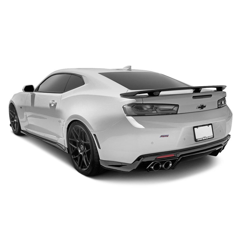 duraflex chevy camaro 6 2l with quad exhaust 2016 2017. Black Bedroom Furniture Sets. Home Design Ideas