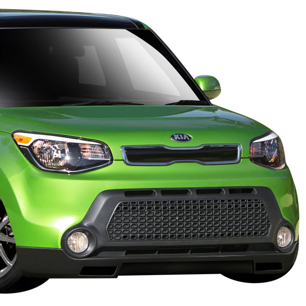 2016 Kia Soul Exterior: Kia Soul 2016 Racer Style Fiberglass Bumper Lips