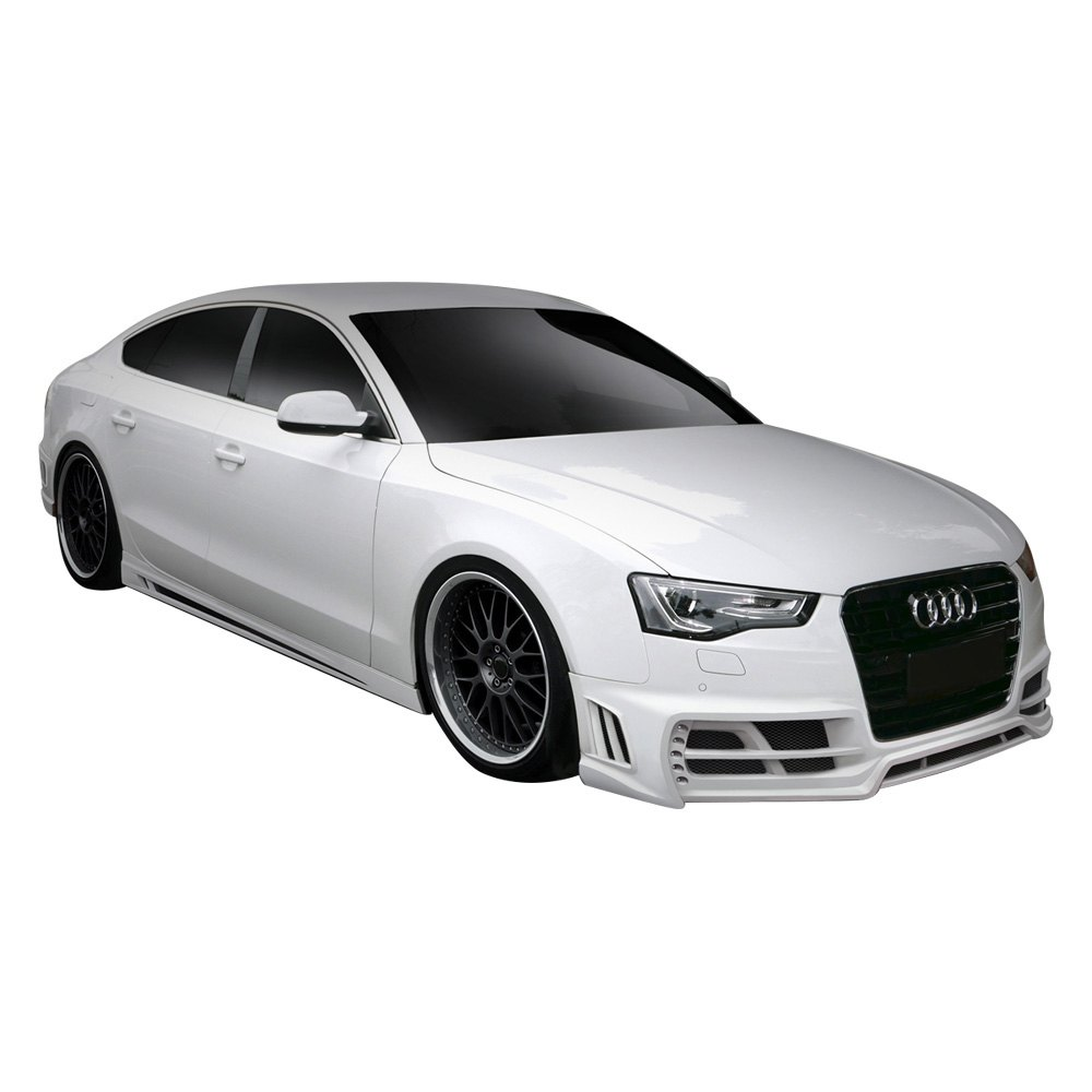 duraflex audi a5 4 doors 2011 2013 tkr style fiberglass. Black Bedroom Furniture Sets. Home Design Ideas