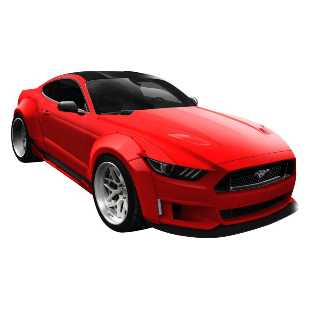 Ford Mustang 2015-2017 Grid Style Fiberglass