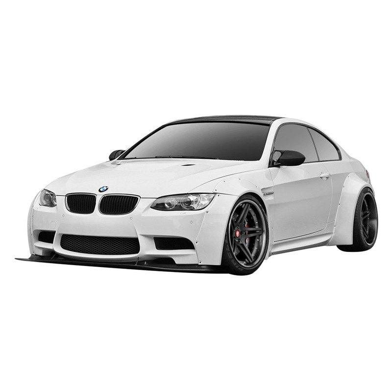 BMW M3 2009 Circuit Style Fiberglass Wide Body Kit