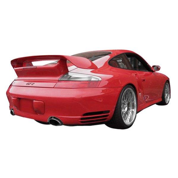 duraflex porsche 911 convertible coupe 996 body code 2002 2003 gt 2 style fiberglass body kit. Black Bedroom Furniture Sets. Home Design Ideas