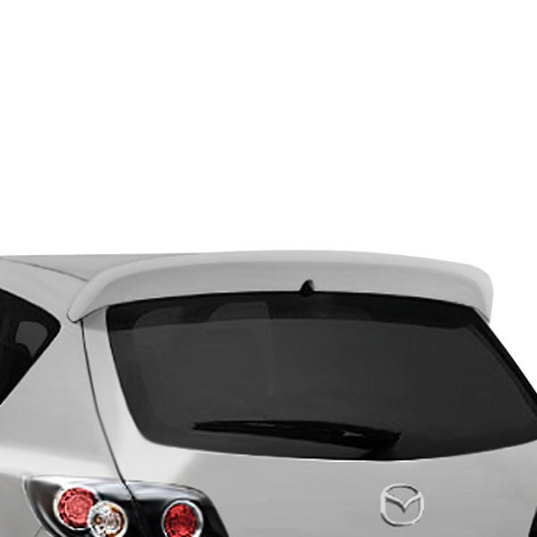 duraflex 107765 mazda 3 2008 x sport style fiberglass. Black Bedroom Furniture Sets. Home Design Ideas