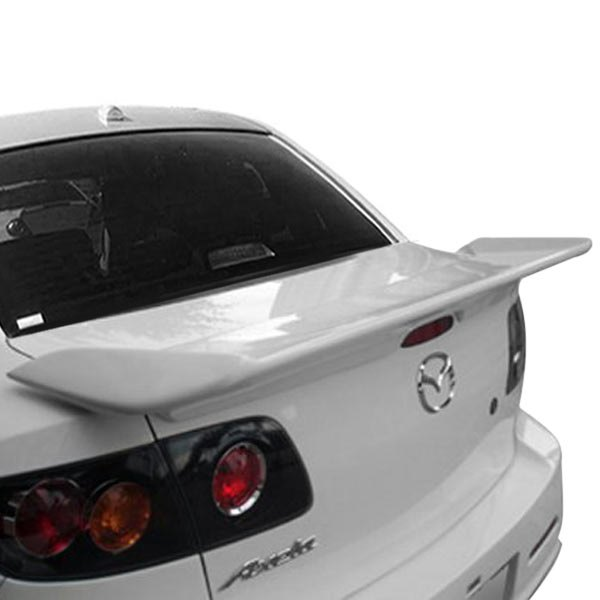 duraflex 104483 mazda 3 2005 i spec style rear wing spoiler. Black Bedroom Furniture Sets. Home Design Ideas