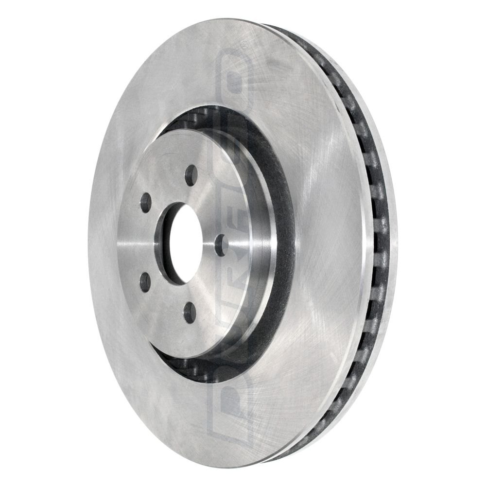 DuraGo BR901424 Front Vented Disc Brake Rotor