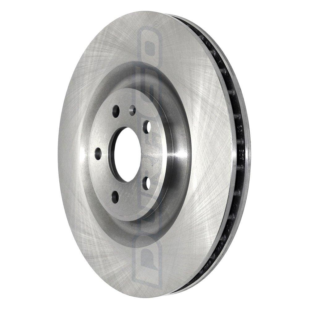 DuraGo BR34162 Rear Vented Disc Brake Rotor