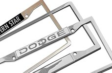 DWD Dodge License Plates Frame