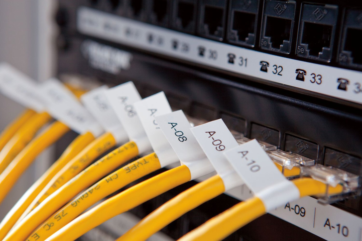 Electrical Wire Labels cisco symbol database schema notation