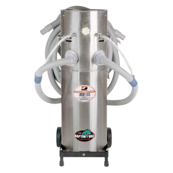 Air Powered Vacuum : Dynabrade raptor vac™ gallons air powered