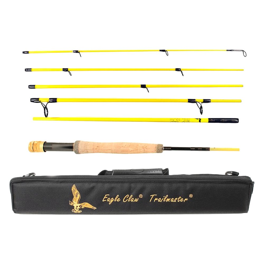 eagle claw tmm86f6 trailmaster 8 39 6 fly rod. Black Bedroom Furniture Sets. Home Design Ideas