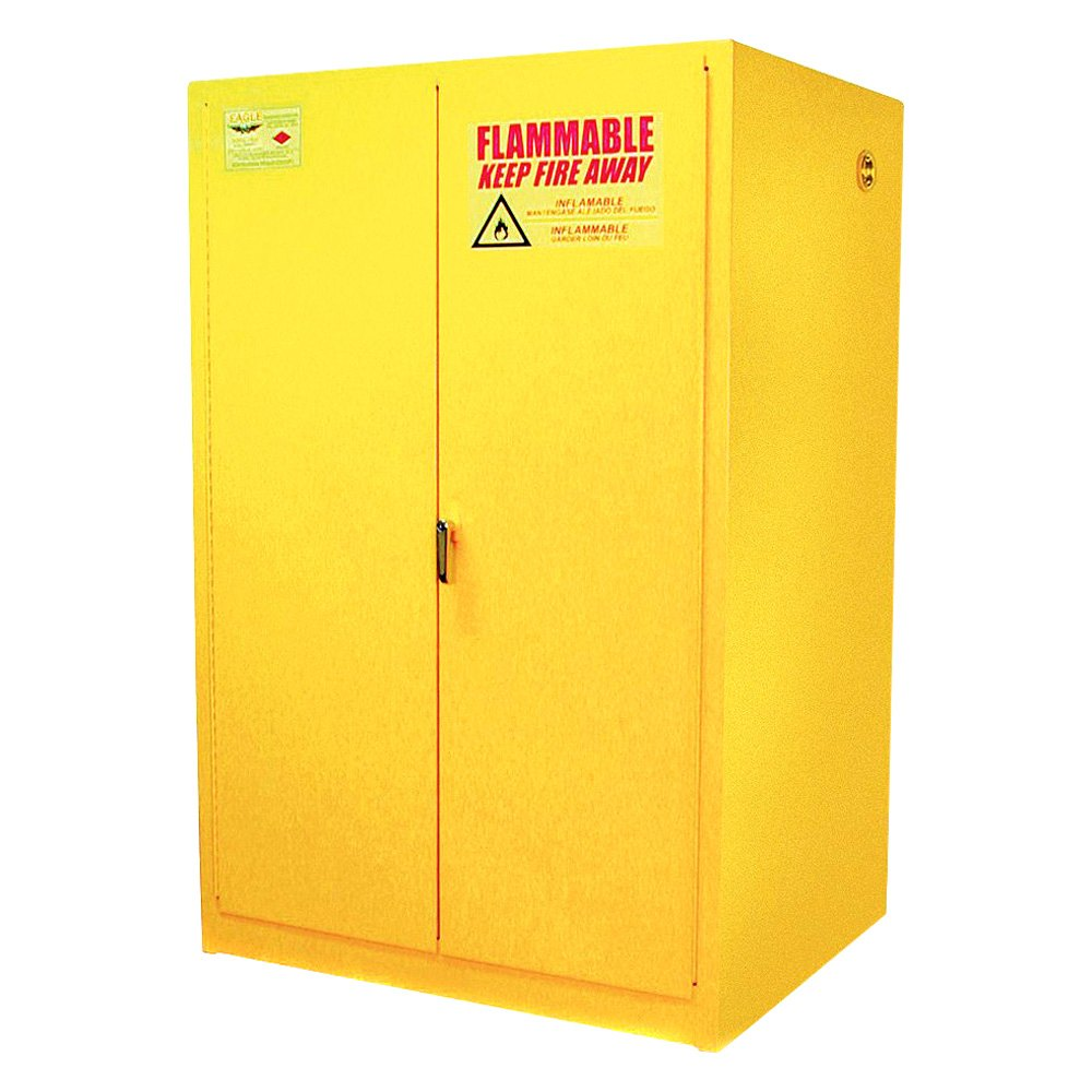 Yellow Notice On Front Door: Eagle Manufacturing® 9010