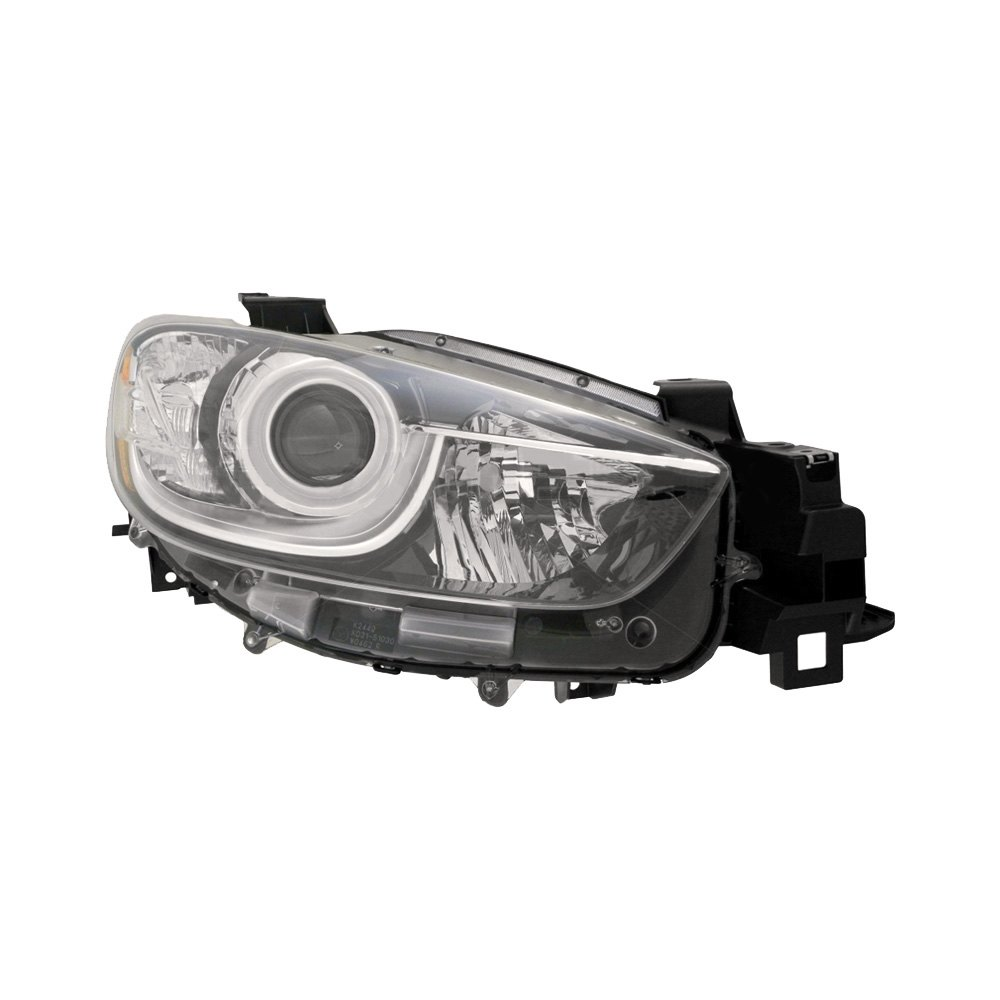 Mazda 5 Headlight Parts Diagram: Mazda CX-5 With Factory Halogen Headlights 2013