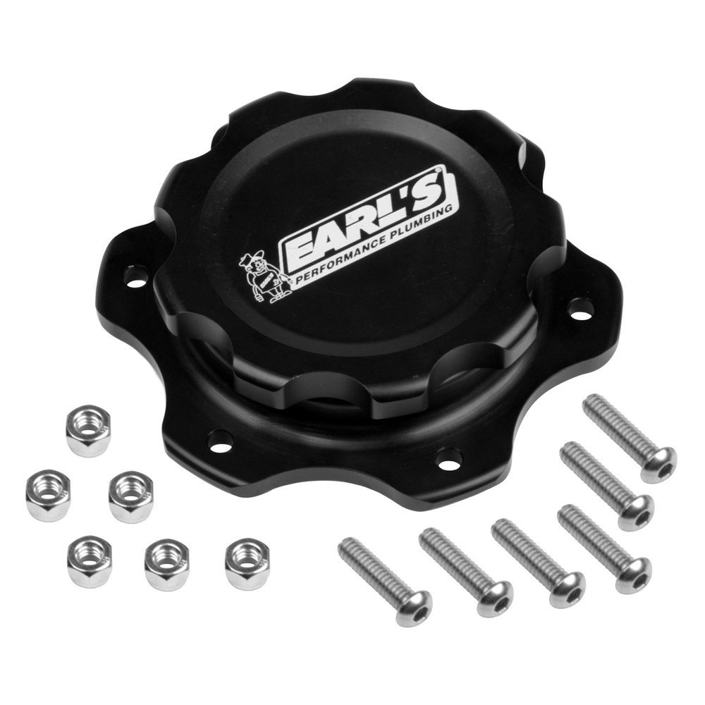 Toilet Gas Cap : Earl s performance billet fuel cell cap