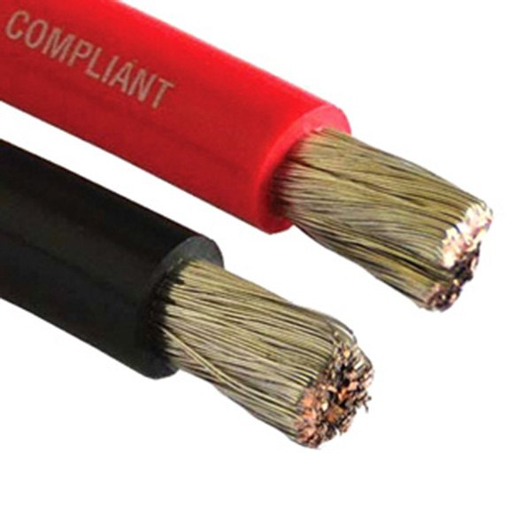 Red Battery Cable : East penn  awg red battery cable