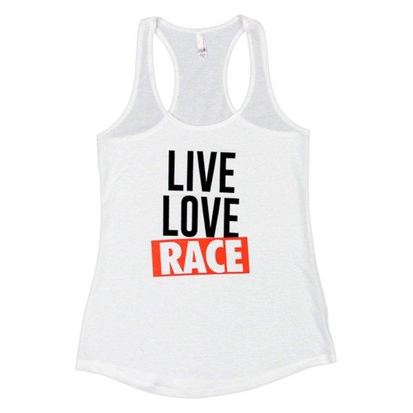 eat sleep race ladies live love race tank top. Black Bedroom Furniture Sets. Home Design Ideas