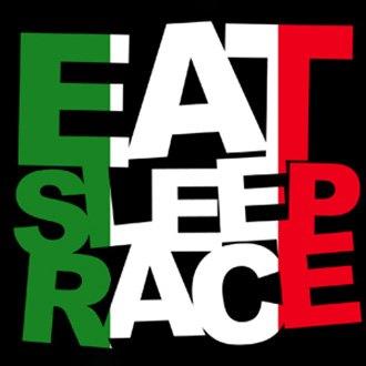 eat sleep race logo - photo #29