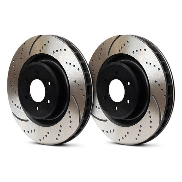 EBC Brakes GD7442 3GD Series Dimpled and Slotted Sport Rotor