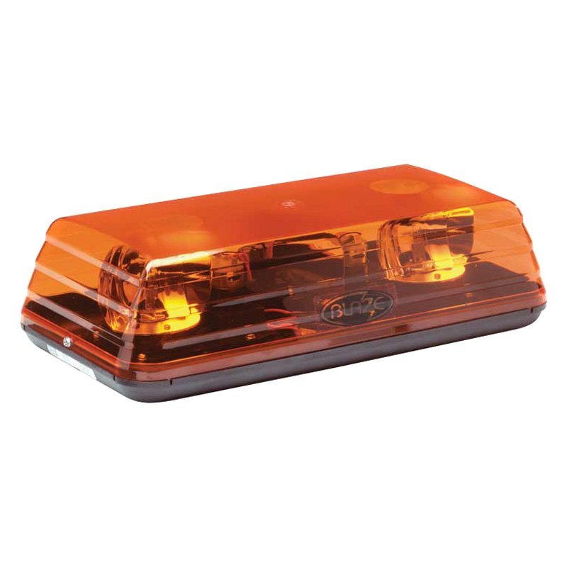 Ecco 15 blaze ii rotating amber mini beacon light bar ecco 15 blaze ii 4 bolt mount rotating amber beacon light mozeypictures Images