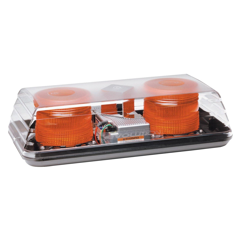 Ecco 15 blaze ii beacon light bar 15 blaze ii 4 bolt mount amber beacon light barecco aloadofball Gallery