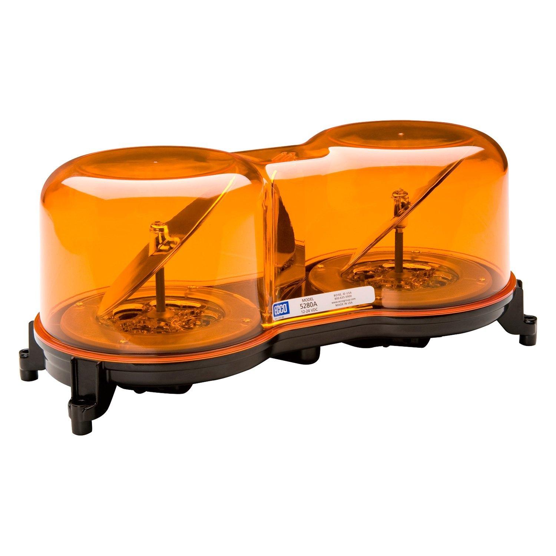 Ecco 13 rotoled rotating amber mini led beacon light bar ecco 13 rotoled 4 bolt mount rotating amber led beacon light aloadofball Choice Image
