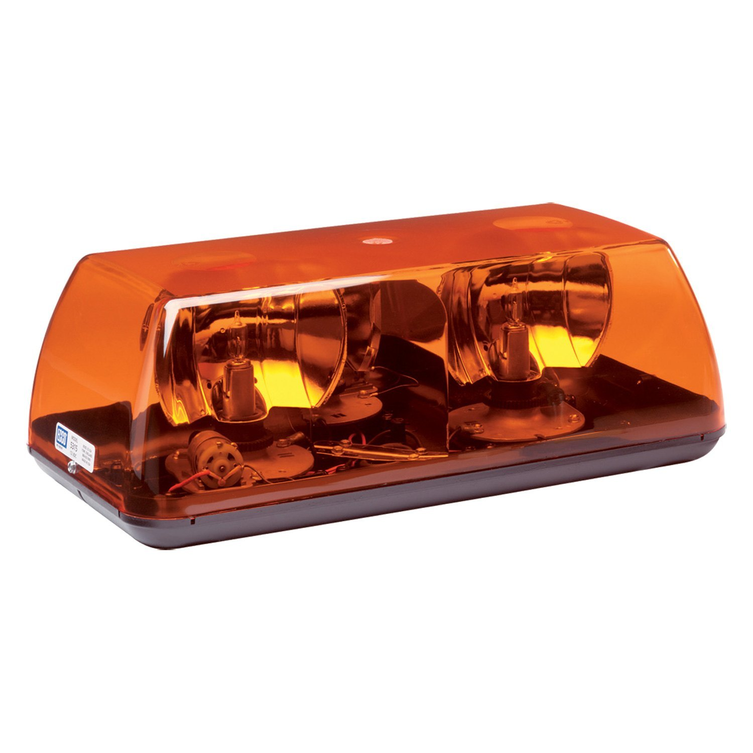 Ecco 15 rotating amber mini beacon light bar ecco 15 4 bolt mount rotating amber beacon light bar aloadofball Choice Image