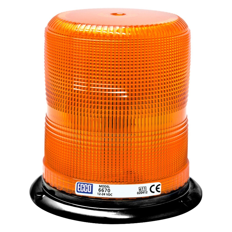 Ecco 174 6600 Series Amber Beacon Light
