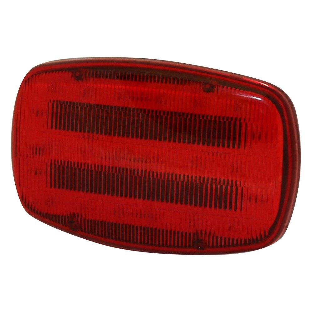 7 5 Aa Battery Magnetic Mount Red Led Strobe Light