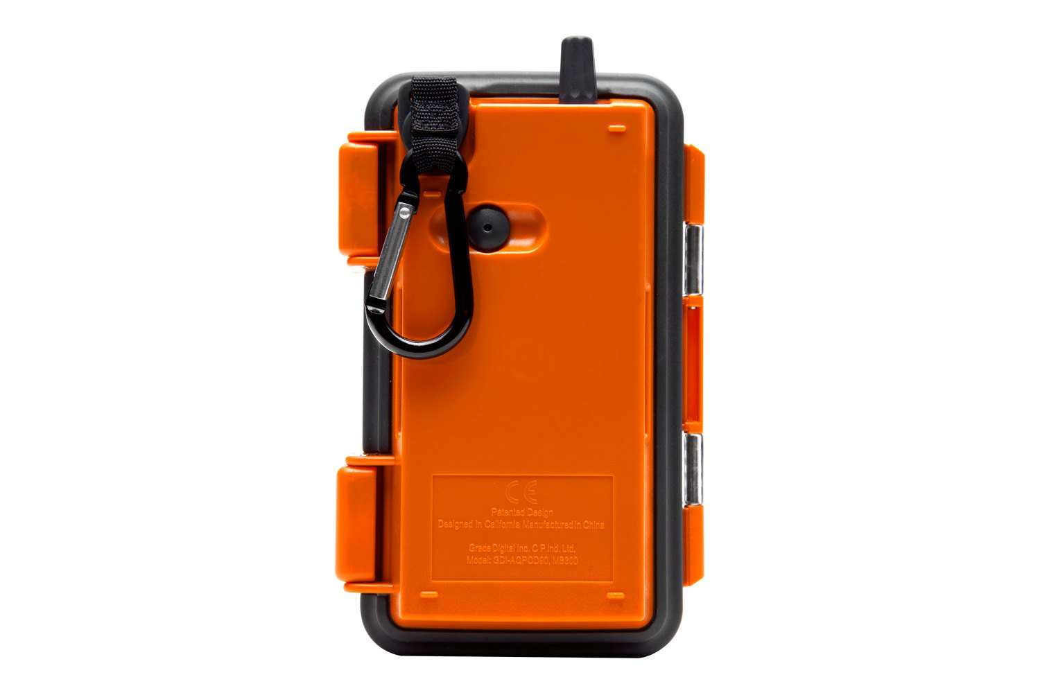 Ecoxgearu00ae GDI-AQPOD90 - ECOPODu2122 Waterproof Cell Phone Case, Orange