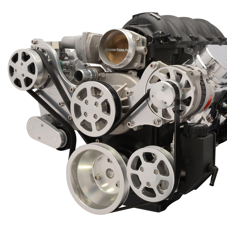 Eddie Motorsports® - S-Drive Serpentine Pulley Kit