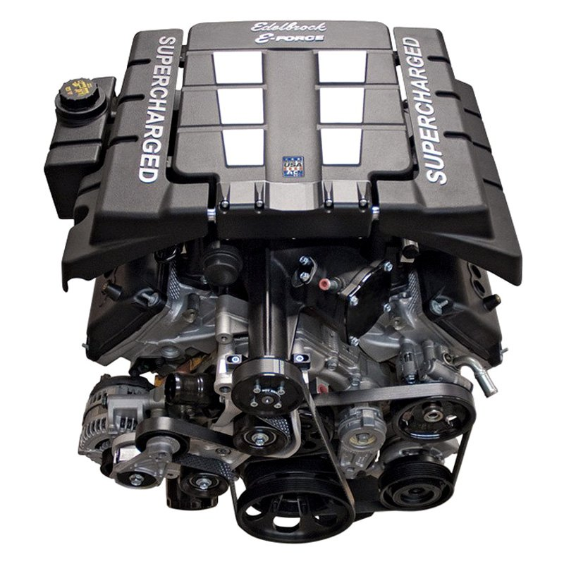 Edelbrock 174 Dodge Charger With Stock Configuration