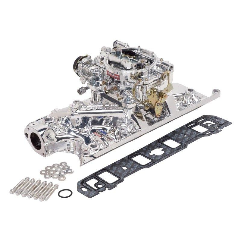 Carburetor Intake Manifold : Edelbrock ford f l with stock configuration