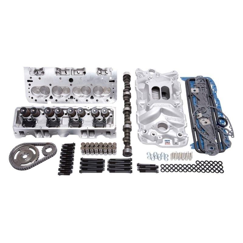 Edelbrock 2019 Rpm Power Package Top End Kit Small Block: Chevy Nova 5.7L Chevy Small Block Gen I 1973