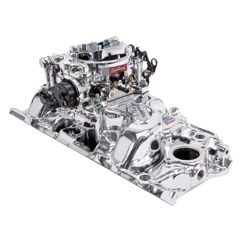 Chevy Camaro With Oval Port Cylinder Head