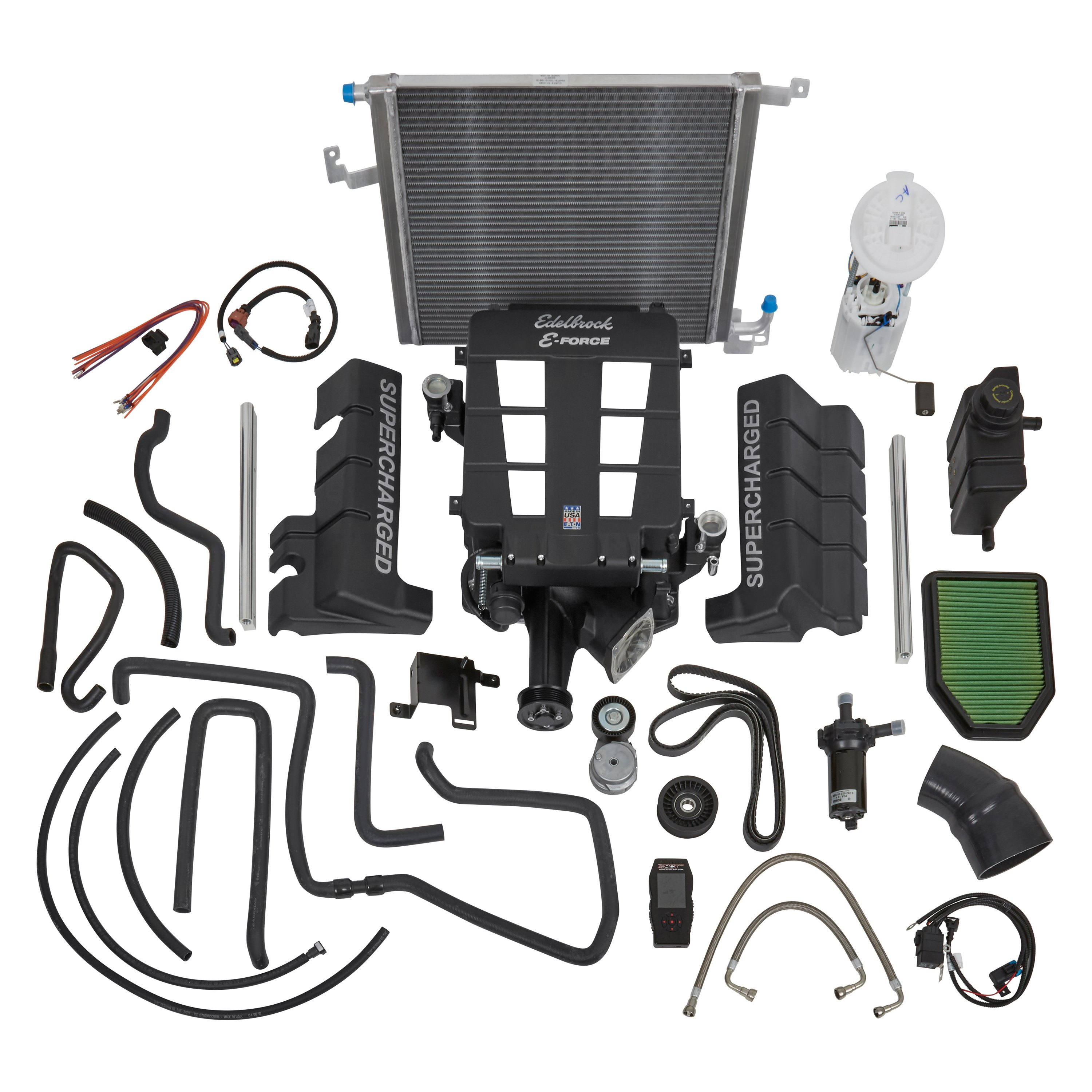 Edelbrock® 1534 - Stage 1 Street Supercharger System with Tuner