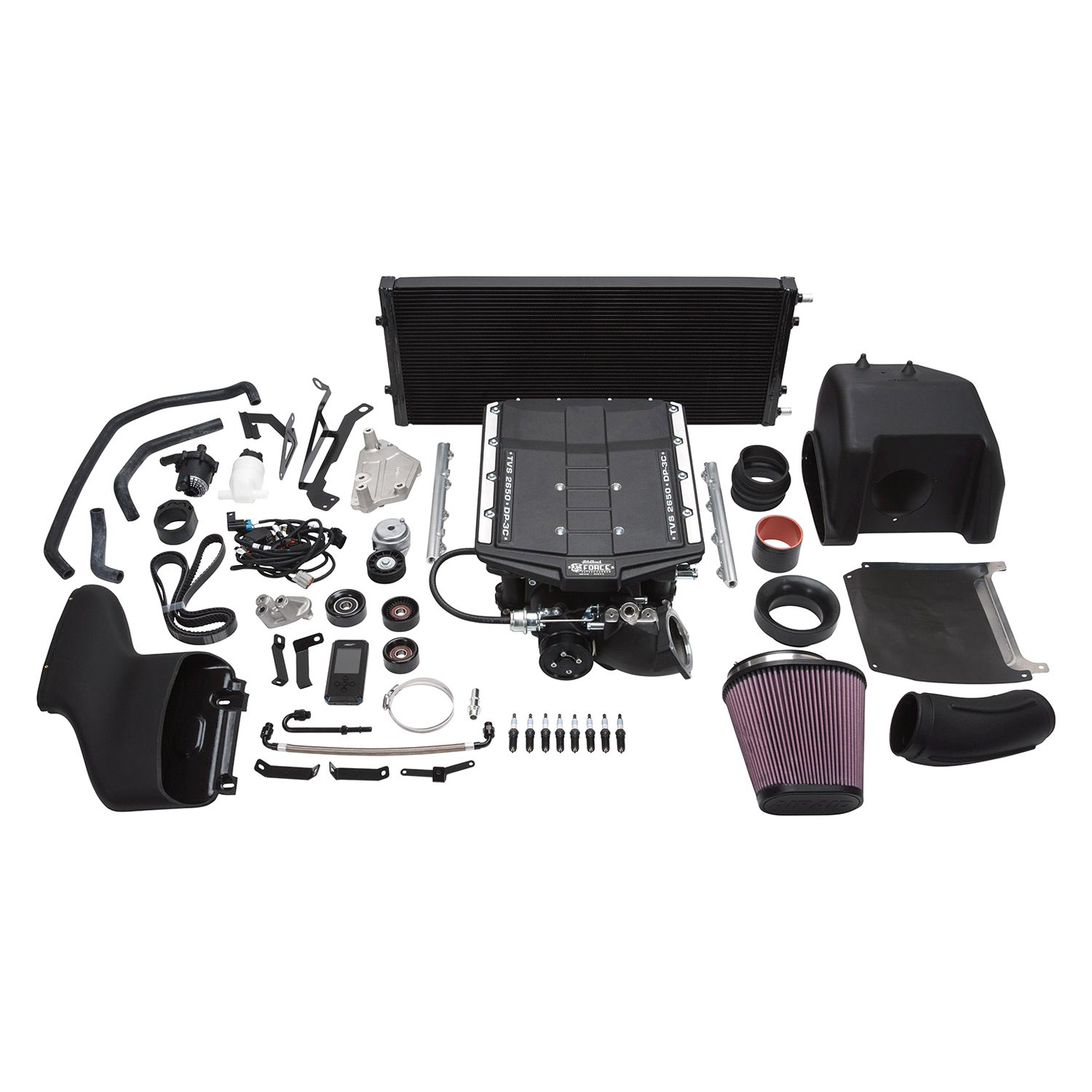 Edelbrock® 15836 - E-Force™ Stage 1 Street Supercharger System with Tune