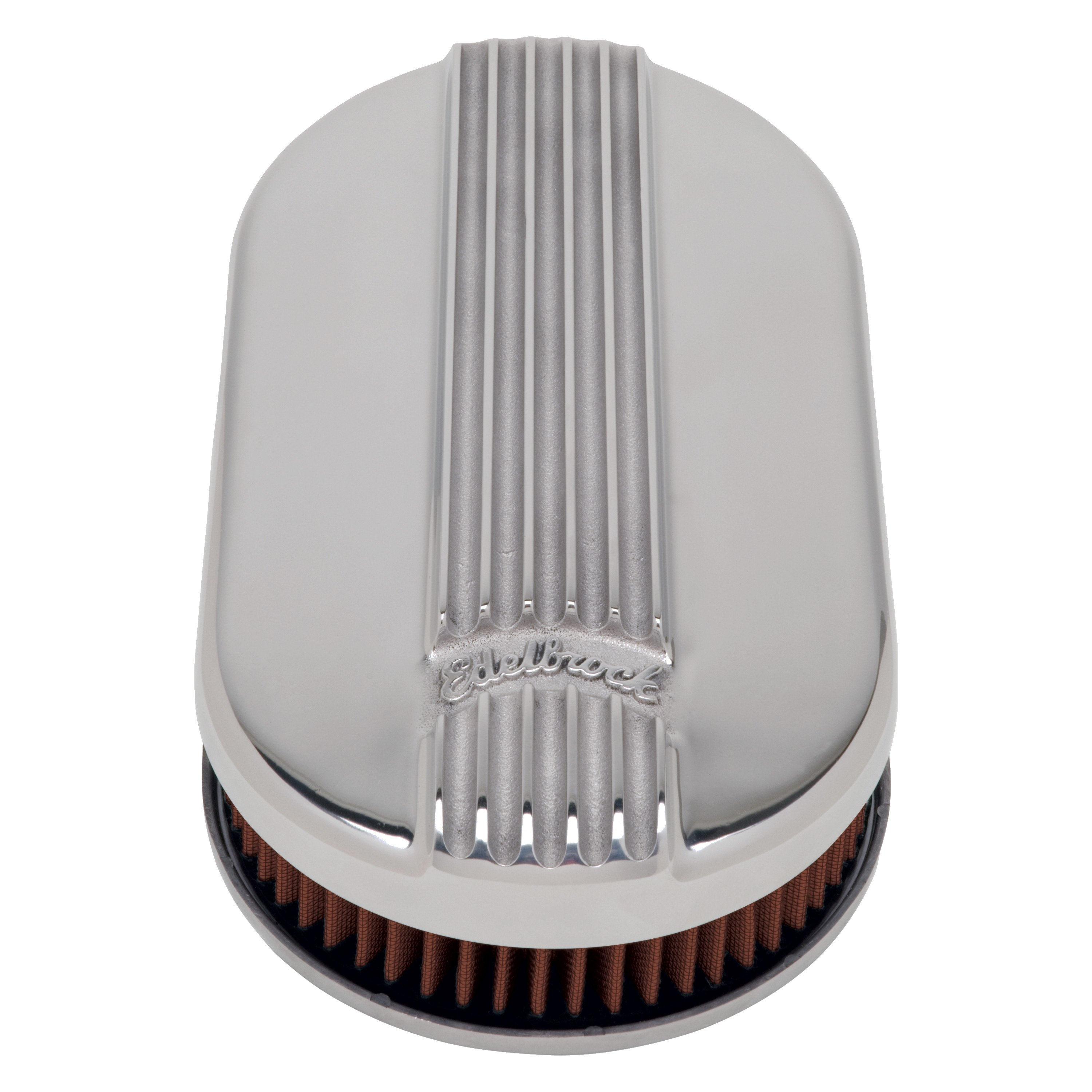 Classic Air Cleaners : Edelbrock classic series™ cast small oval air cleaner