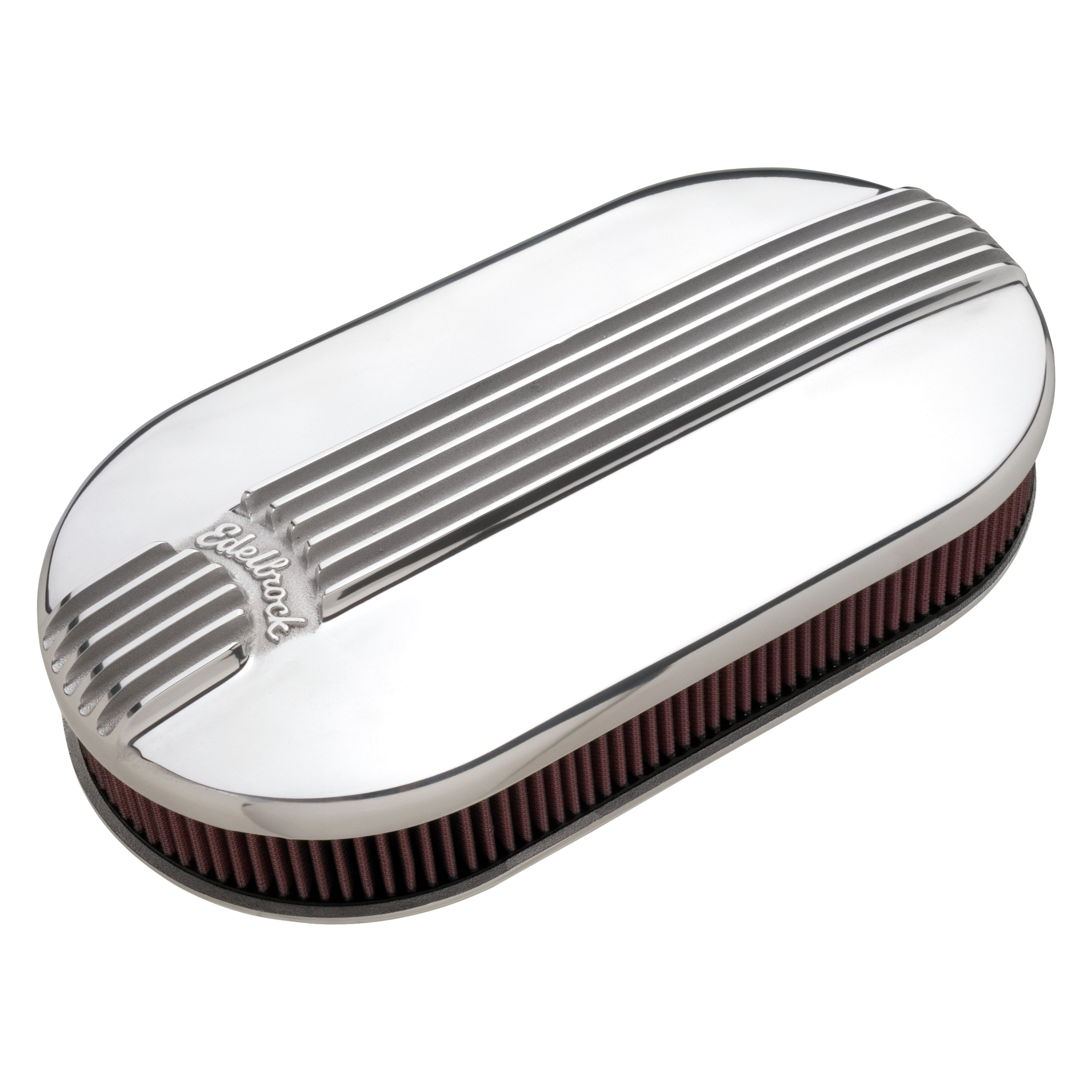 Classic Air Cleaners : Edelbrock classic series™ oval air cleaner assembly
