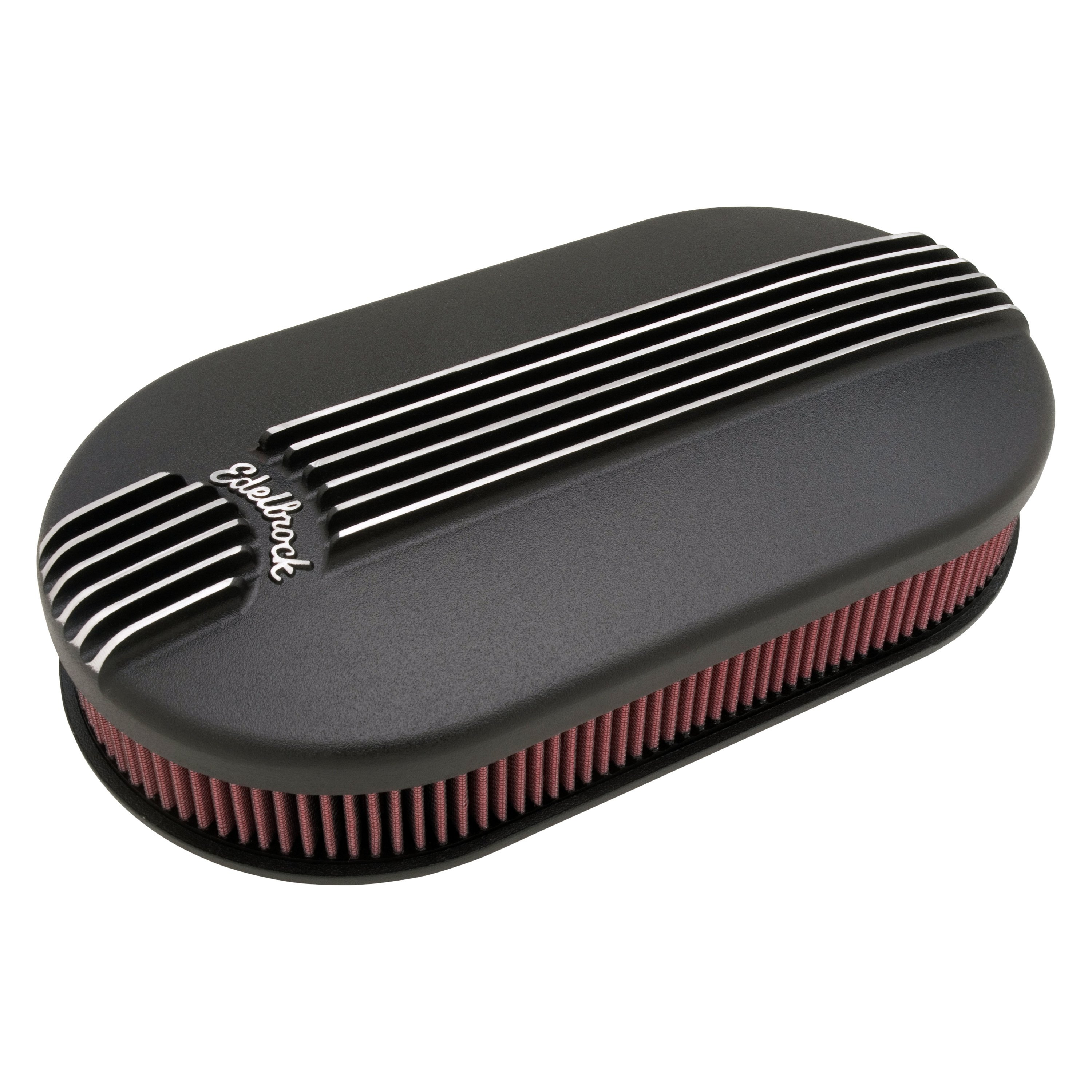 Classic Air Cleaners : Edelbrock classic series™ cast large oval air cleaner