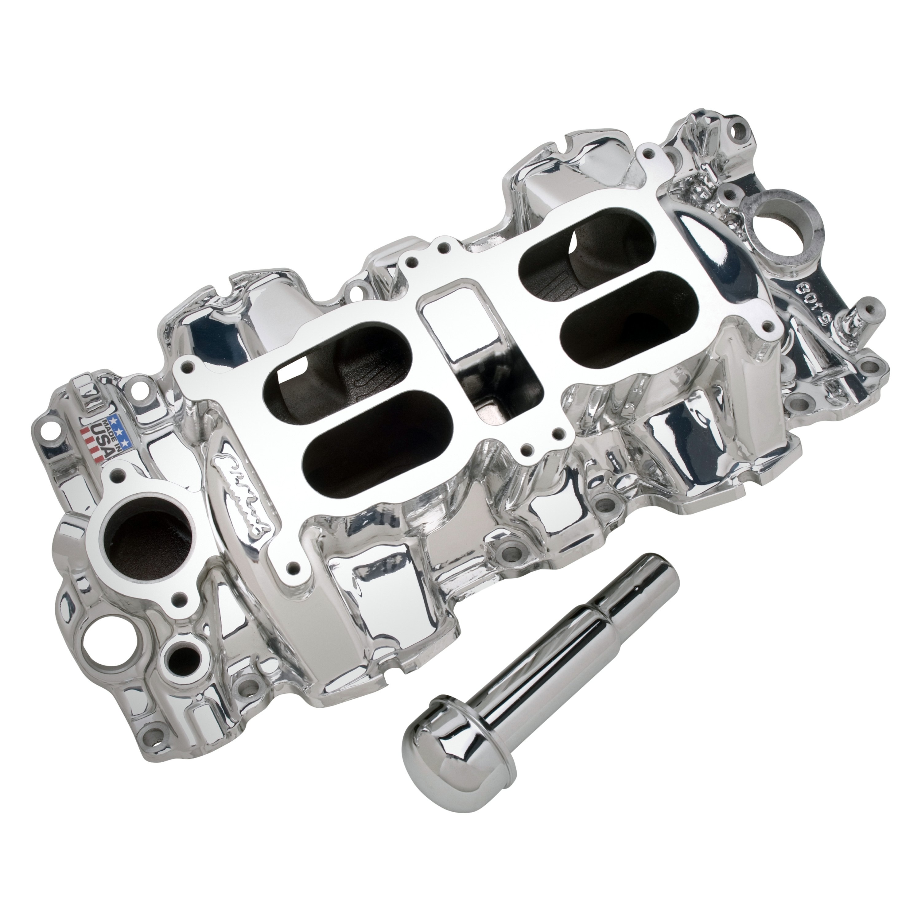 Chevy Impala With Edelbrock Performer RPM