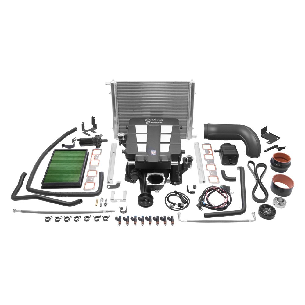 Edelbrock Dodge Ram With Chrysler Small Block Generation Iii 2012 Stereo Upgrade Stage 1 Street Supercharger System