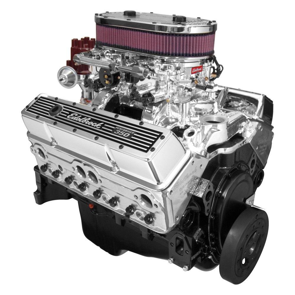 Edelbrock Pontiac Firebird 66l With Chevy Small Block Engine Big Engines Performer Dual Quad Endurashine Crate