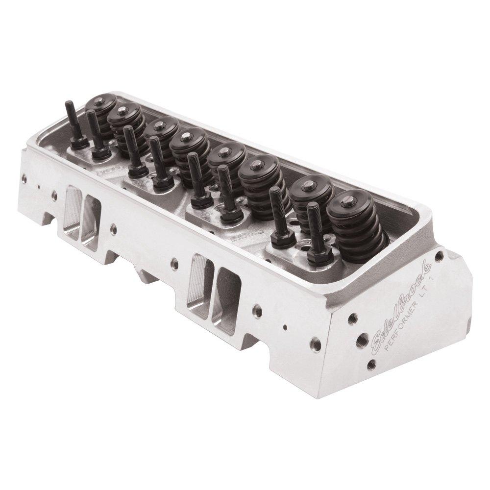 Edelbrock 61905 Performer Lt1 Cylinder Head Chevy 5 7l: Edelbrock - Performer LT1 Cylinder Head
