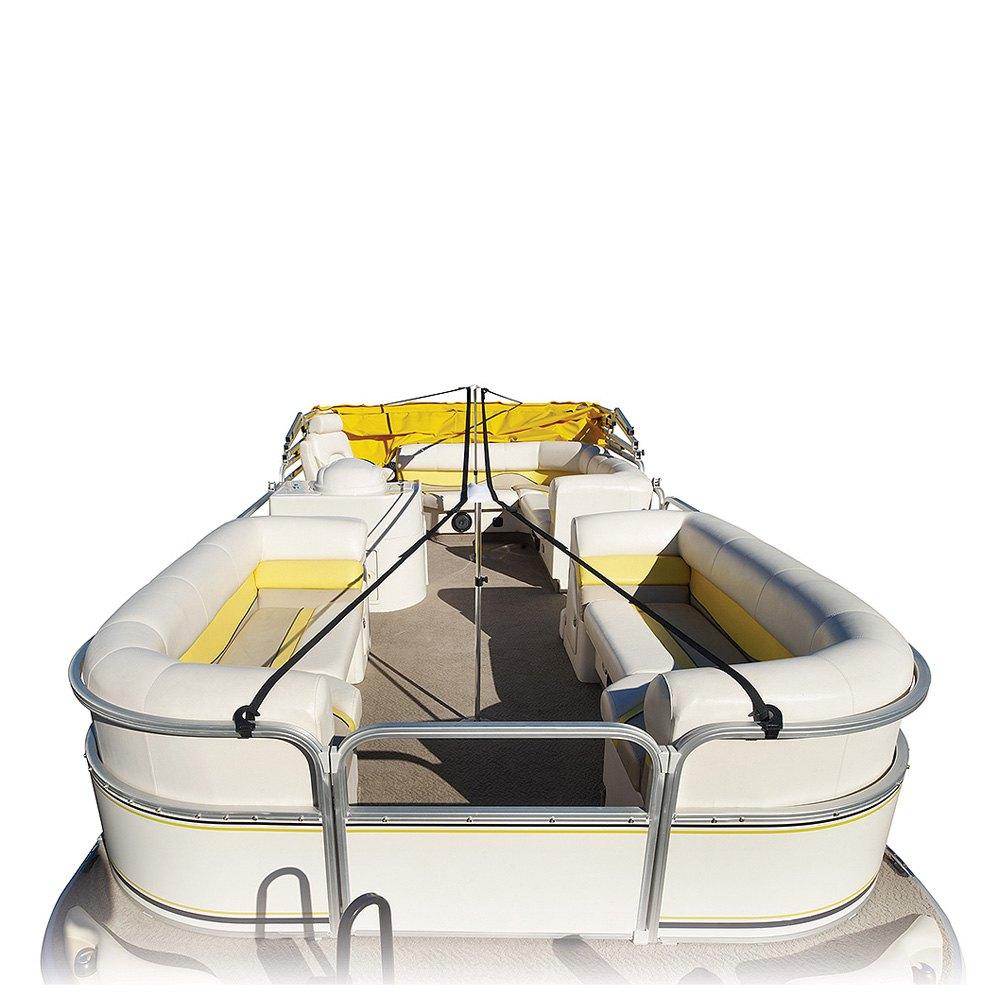 Eevelle 174 Warlpss Wake Ridgeline Pontoon Boat Cover
