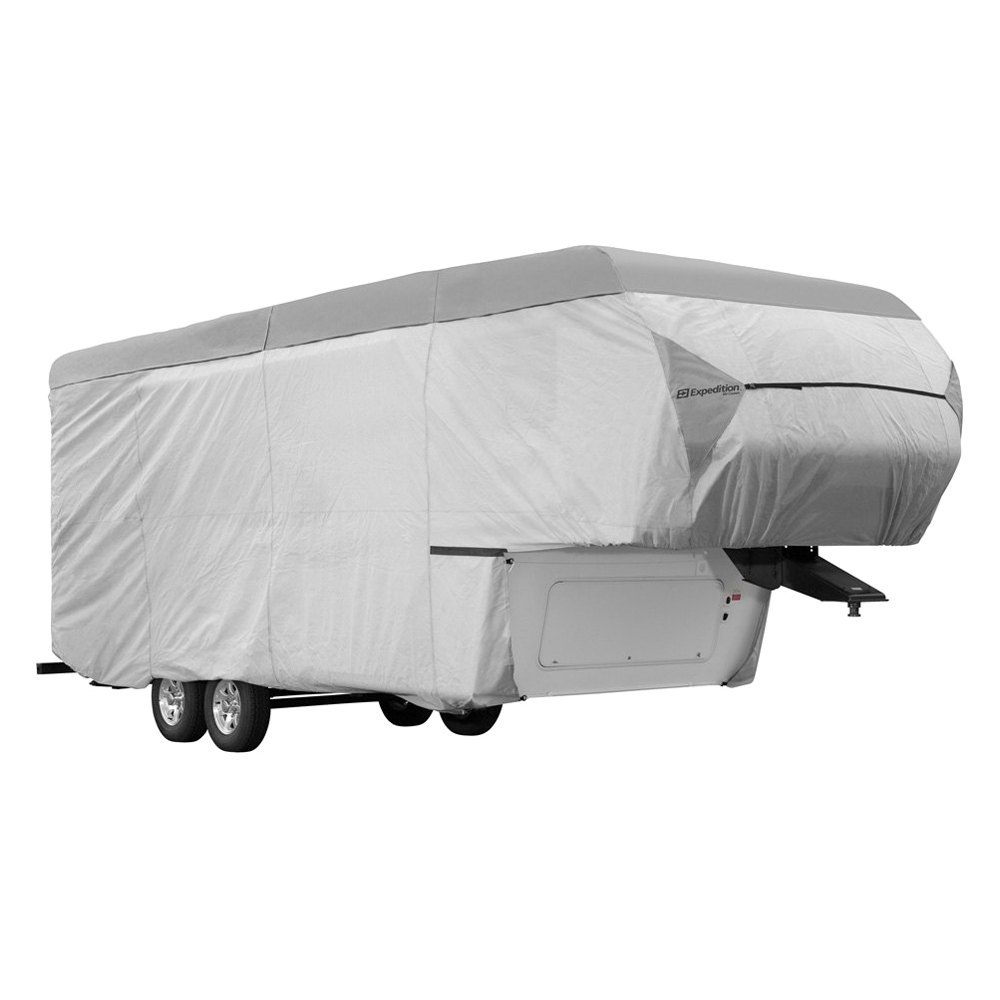 Eevelle Expedition Gray 5th Wheel Trailer Cover