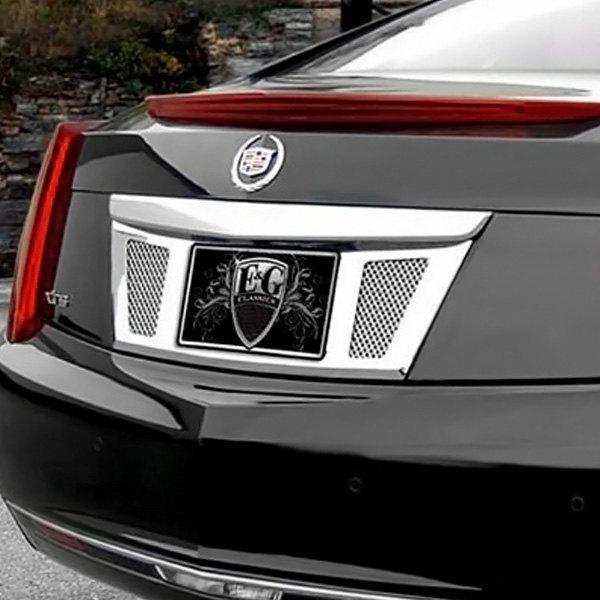 Cadillac 2013 Price: Cadillac XTS 2013 Chrome License Tag Surround