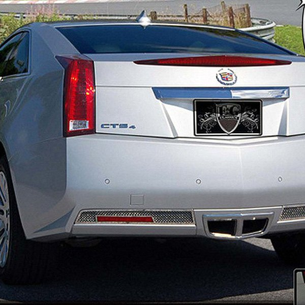 Cadillac CTS Coupe 2011 Mesh Style Chrome