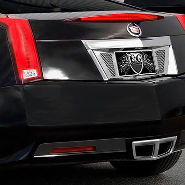 Cadillac CTS 2014 Chrome License Tag Surround