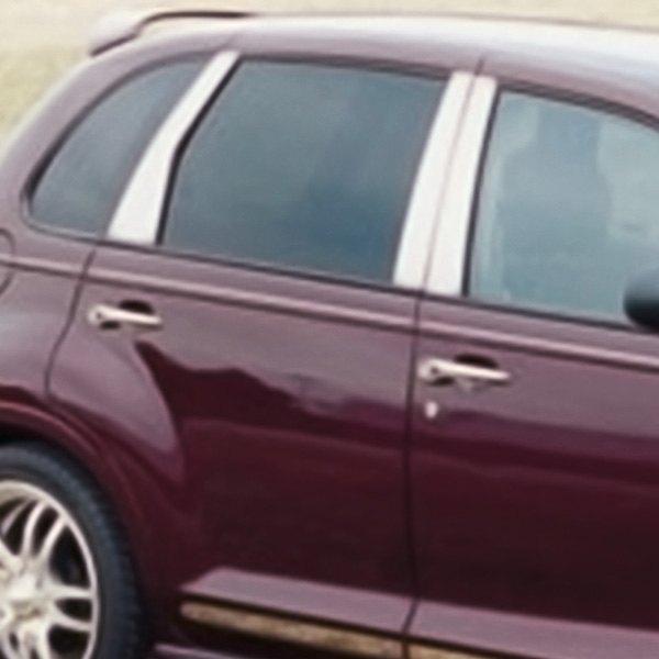 E Amp G Classics 174 Chrysler Pt Cruiser 2001 Polished Pillar Posts