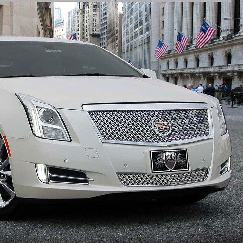 Cadillac 2013 Price: Cadillac XTS 2013 Diamond Chrome Dual Weave Mesh Grille Kit