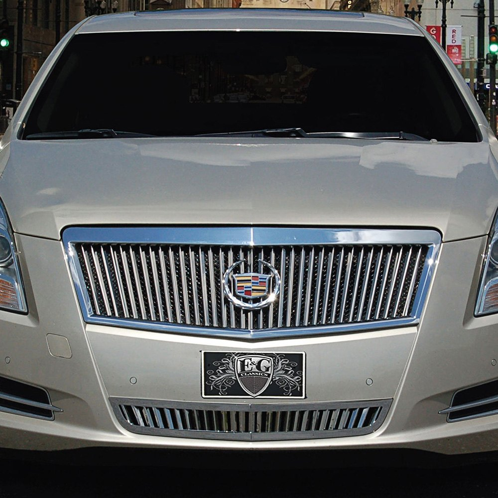 Cadillac XTS 2014 Classic Silver Billet Grille
